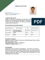 Ashis Kumar-curriculum Vitae