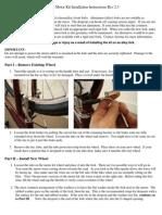 Aotema Motor Kit Installation Instructions Rev2.3