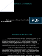 Introduction to post modern architecture