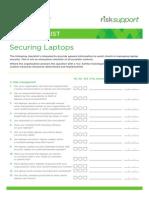 Securing Laptops Checklist