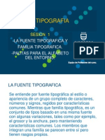 SESION 1 - TIPOGRAFIA