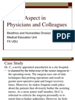 K6-Ethical Aspect in Physicians and Colleagues