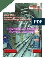 MetroMadrid Estudio Comparativo Catenaria