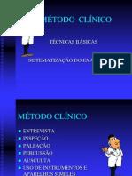 Método Clinico - Técnicas Básicas e Sistematização