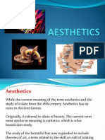 1 Aesthetics