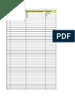 HR Profiles Tracker