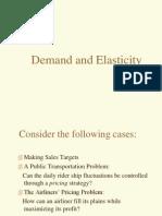 Demand & Elasticity