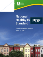 National Healthy Housing Standard Public Draft
