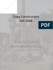 Copy Constructor c++