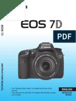 Canon-EOS 7D Camera Manual