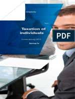 Taxation of Individuals 2012(LUX)