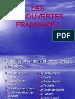 Les Decouvertes Francaises