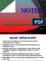 Basic Organization of Computers