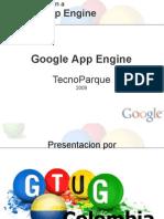 Introduccion a App Engine