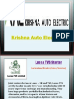 Automotive Components Dealer - Krishna Auto Electric