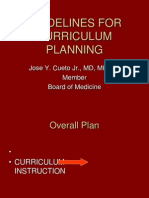 Guidelines Curriculum Planning