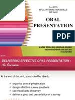 OIS07 Effective Oral Presentation