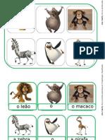 Loto Animais - Domesticos e Selvagens Madagascar
