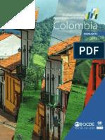 OCDE Evaluación de desempeño ambiental de Colombia - Highlights