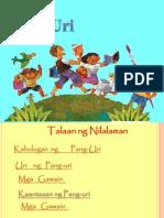 Powerpoint Presentation PANG-URI