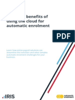 Automatic Enrolment and 5 Benefits in the Cloud Final IRIS