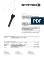 m88 microphone data sheet