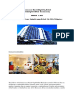 Renaissance Makati City Hotel