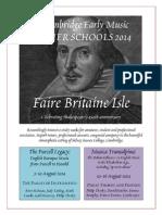 2014 Course Leaflet A4