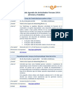 2014 07 08 Agenda OviedoEmprende Jovenes y Familias