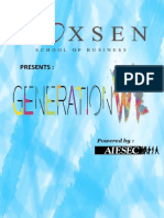 Generation WE Proposal Revised