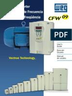 WEG Cfw 09 Inversor de Frequencia 0899.4781 2.6x Manual Portugues Br