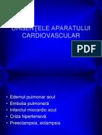 Urgentele Aparatului Cardiovascular