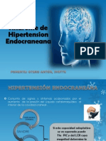 Sindrome de Hipertensión Endocraneana