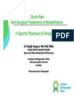 Dr Ralph Rogers Groin Pain