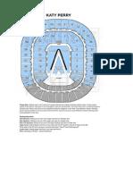 Katy Perry SEATING at RL Arena