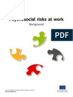 Psychosocial Risks at Work