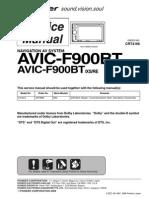 AVIC-F900BT (CRT4166) (sm)