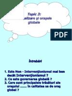 Globalizare -  Topic3