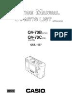 Casio Qv-70b_70c Sm Camara