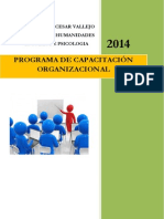Programa de Capacitacion Organizacional