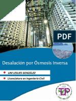 Lim Leslies González - Osmosis Inversa y Desalinización