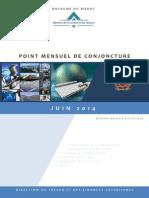 Maroc Point Mensuel de Conjoncture Juin 2014