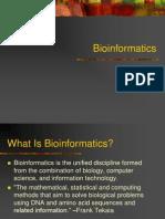 An Introduction on Bioinformatics
