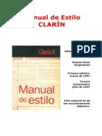 Manual de estilo (Clarín)