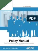 JCI University Policy Manual