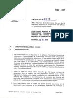 Cir 239 -- Circular Contraloria Sobre Art 55 Ley de Urbanismo
