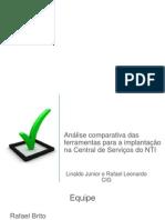 CSTIC - Análise das Ferramentas.pptx