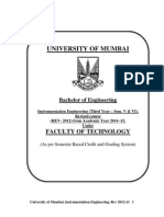 Inst syllabus Mumbai University