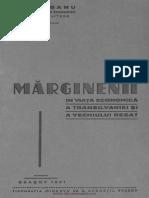 I. Haseganu, Marginenii in Viata Economica a Transilvaniei Si a Vechiului Regat, 1941