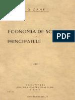 G Zane. Economia de Schimb in Tarile Romane, 1930